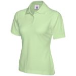 Ladies Lime Green Polo