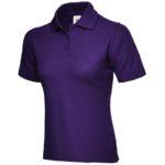 Ladies Purple Polo